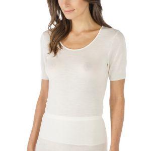Wol/zijde shirt korte mouw 66576
