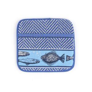 Fish Pannenlap Blauw